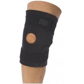"""Neoprene Velcro Side Closure Knee Brace - Open Patella 10"""""""