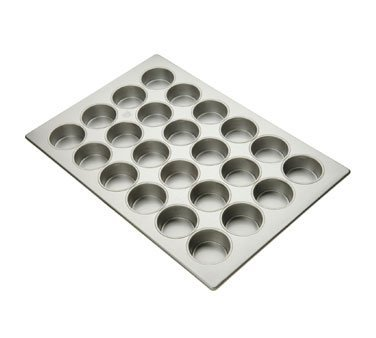 Focus Foodservice 12 Cup Jumbo Muffin Pan, 3 3/8 inch -- 6 per case. by Focus Foodservice