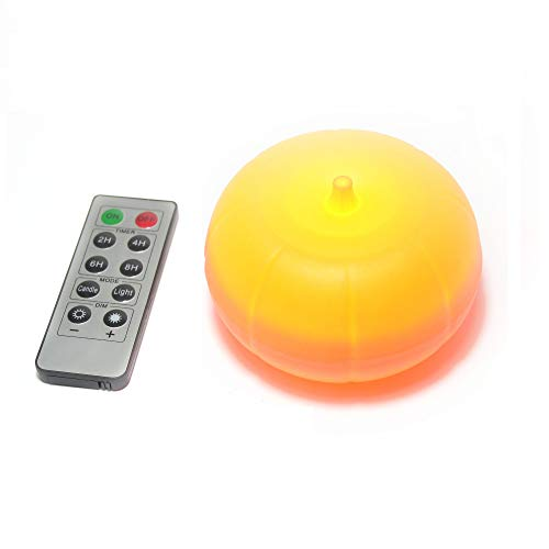 LED Pumpkin Lights with Remote and Timer, Bright