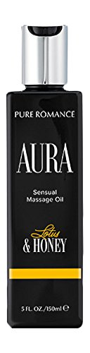 Pure Romance AURA Lotus & Honey Sensual Massage Oil