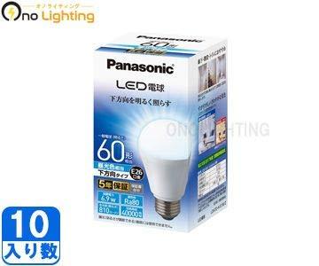 パナソニック 【ケース販売特価 10個セット】 LED電球プレミア 広配光タイプ 7.3W 一般電球形 60W形相当 全光束:810lm 昼光色相当 E26口金 LDA7D-G/K60E/S/W_set B01EH25LSW