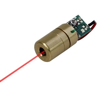 Quarton Laser Module VLM-635-02 LPT (ADJUSTABLE DOT LASER) by Infiniter (Image #9)