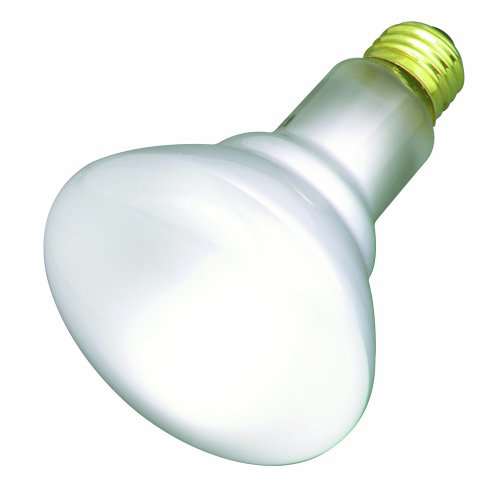 (Satco S2810 130V Medium Base 30-Watt R20 Light Bulb,)