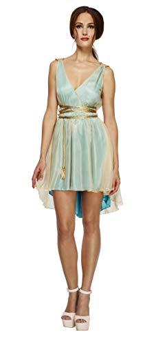 Smiffys Women's Fever Grecian Queen Costume, Dress and Belt, Legends, Fever, Size 14-16, -