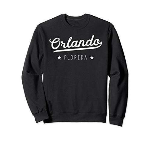 - Classic Retro Vintage Orlando Florida USA Gift Sweatshirt