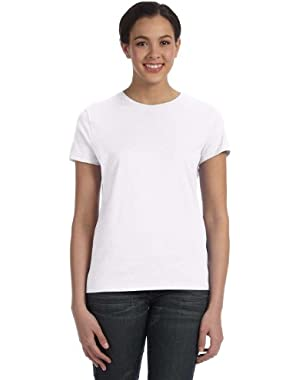Hanes Ladies Classic Fit Jersey T-Shirt
