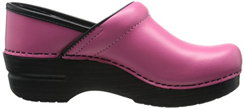Dansko Women's Professional Clog, Black Cabrio Leather, 37 EU/6.5-7 B(M) US Azalea Box