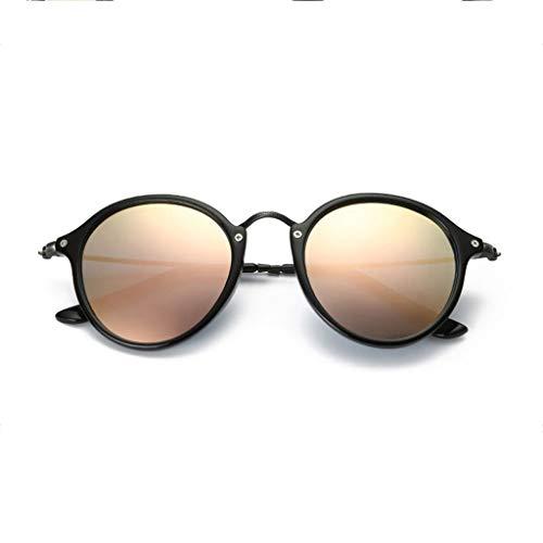 Redondo Gafas Running Espejo Aviador D para conducción Vogue de polarizadas Nuevas de sol UV Hombres qwqWOa14F