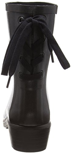 Juliette Women's Black Wellington Bottillon Aigle Boots Miss q8wgdqAE