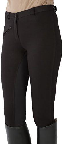 Color Pantalones de equitaci/ón con culera para ni/ños PFIFF