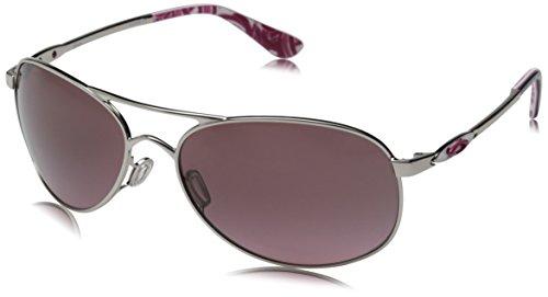 Oakley Women's Given Chrome w/G40 Black Gradient  Sunglasses