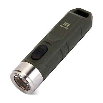 RovyVon A1 U EDC Flashlight 650 Lumens Keyring Torch Rechargeable Cree XP-G3