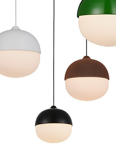 Mini Acorn Pendant Lamp 1 Light Mordern Simplicity Finish Carbon Steel & Glass Droplight
