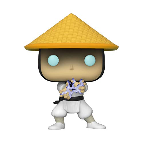 Funko- Pop Games Mortal Kombat-Raiden Collectible Toy, Multicolor (45111)