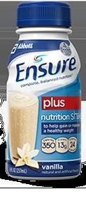 Ensure Plus Vanilla Shake Institutional 8 oz. [1 Can]
