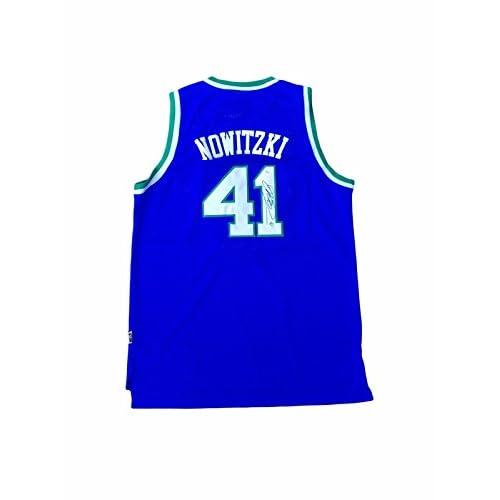 Signed Dirk Nowitzki Jersey - Rookie - JSA Certified - Autographed NBA  Jerseys cheap 874b62ad8