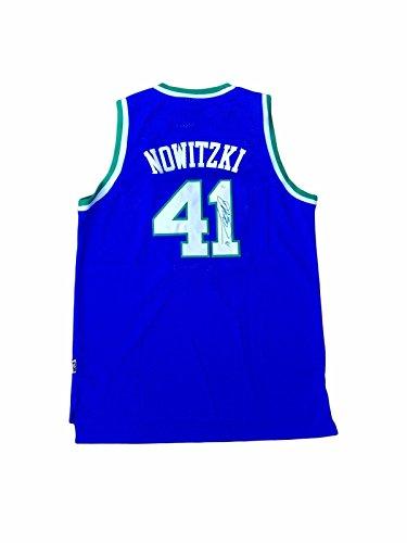 Signed Dirk Nowitzki Jersey - Rookie - JSA Certified - Autographed NBA Jerseys