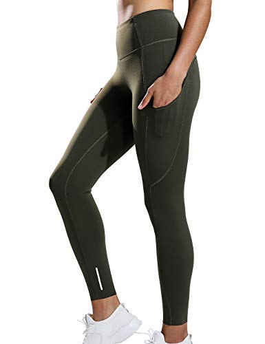 593fd91c0f765 CRZ YOGA Women's Naked Feeling High Waist Tummy Control Stretchy Sport  Running Leggings with Out Pocket