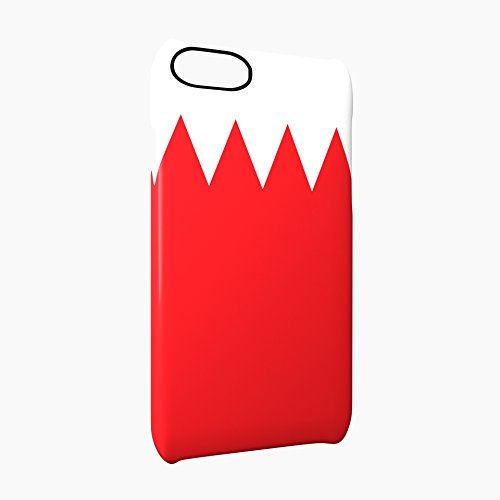 Flag of Bahrain Glossy Hard Snap-On Protective iPhone 7 Case Cover