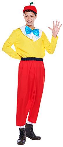 ディズニー ふしぎの国のアリス トゥイードルダム コスチューム メンズ 165cm-175cm