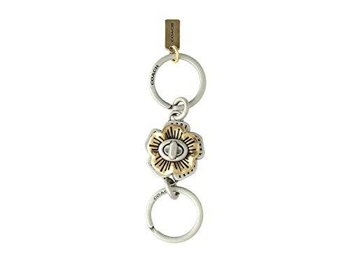 COACH Women's Tea Rose Turnlock Valet Gd/Silver One Size