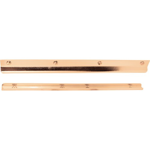 (Prime-Line Products U 9514 Latch Guard in-Swinging, 12-Inch, Brass Plated)