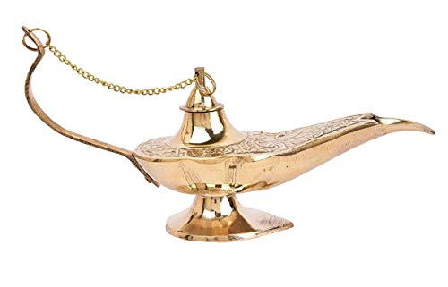 Antique Museum Handicraft Vintage Antique Décor Collectible Decorative Art Aladdin Lamp AMBA 01 ()