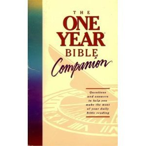 The One Year Bible Companion 0913367451 Book Cover