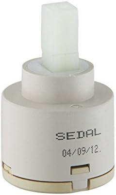 KES Keramikscheibe Ersatzpatrone für Einhand-Küche oder Bad Wasserhahn 40MM von SEDAL aus Europa