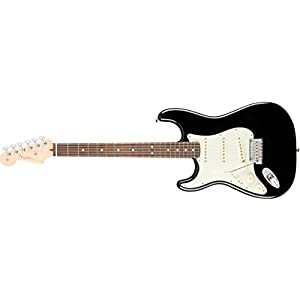 American Professional Stratocaster Lefthand RW Black