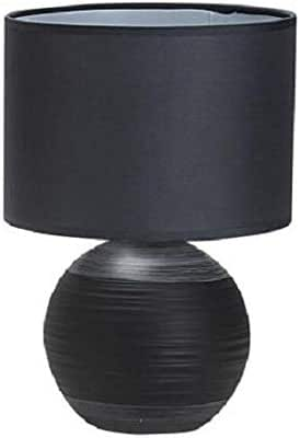 TABLE LAMP BLACK 60 W E27