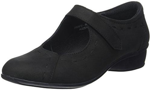 Sandales Noir Luxat Fermé Noir Bout Femme Exalto fOwqRw5