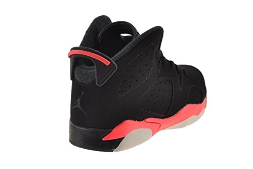 Jordan Air 6 Retro BP Little Kids Shoes Black//Infrared 384666-023