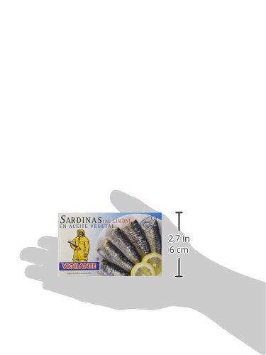 Vigilante - Sardinen In Öl Mit Zitrone / Sardinas En Aceite ...