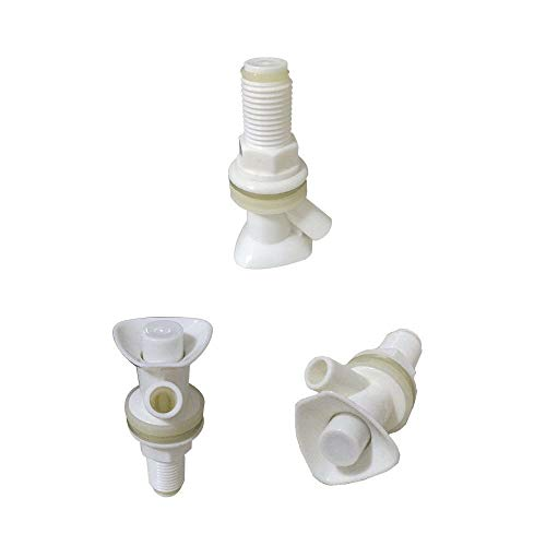KHY (3) Water Cooler Spigot for Rubbermaid Gott Cooler Valve Discharge of 45 degrees by KHY