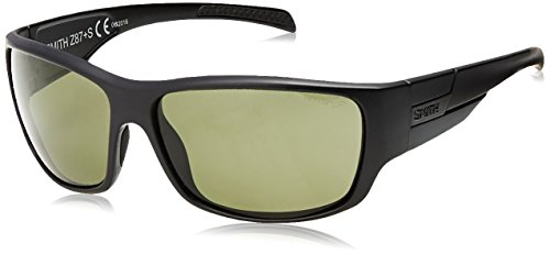 - Smith Optics Elite FRONTMAN Elite Frontman Sunglass with Black Frame and Chromapop Polar Gray Green Lenses, One Size, Black/Gray Green