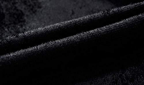 Pelle Da Giacca Semplice Pu Cuciture Ispessita Sport Nuovo Velluto Baseball All'aperto In Autunno Gioventù Stile Outwear Stand Uomo Casual Colletto Inverno Leggera Blau Più Uniforme zPT8nqA