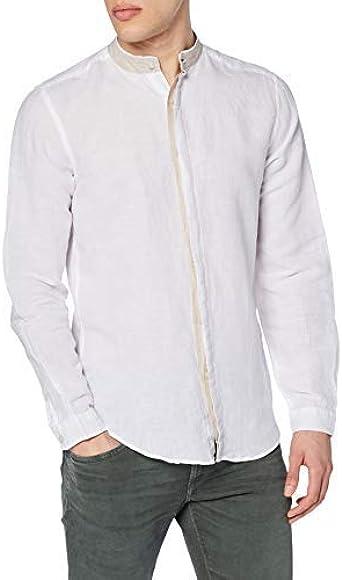 Springfield Franq Linen Mao Camisa Casual para Hombre