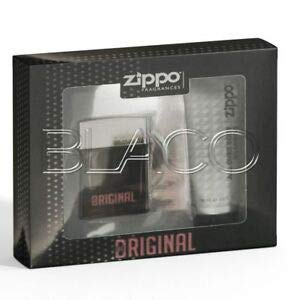 Zippo - Estuche original para hombre con perfume EDT y gel ...