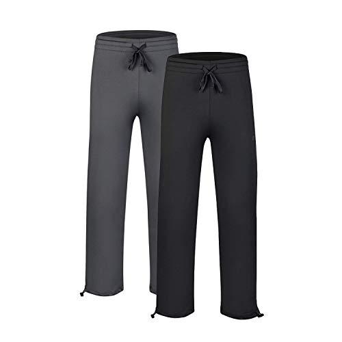 EZRUN Elastic Waistband Pockets Sweatpants product image