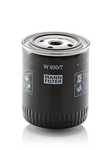 MANN-FILTER Oliefilter W 930/7 – voor bedrijfsvoertuigen