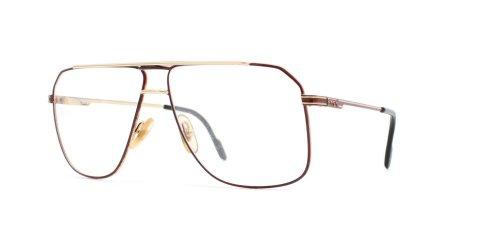 Ferrari 24 504 Red Authentic Men Vintage Eyeglasses - Frames Glasses Ferrari