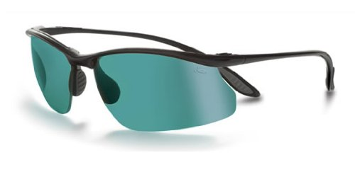 Bolle Sport Kicker Sunglasses (Shiny Black/CompetiVision - Bolle Sunglasses Tennis