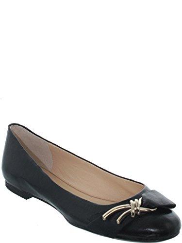 Guess Ballerine  Klemen ref_guess35741-noir black - Chaussures Ballerines Femme