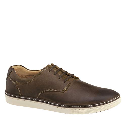 Johnston & Murphy Men's McGuffey Plain Toe Shoe Tan Oiled Full Grain 9 M US from Johnston & Murphy