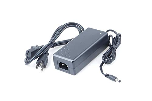 KNACRO AC 100-240V to DC 48V/3A 48V 3A 144W Power Supply Adapter AC Switching Power Transformers Interface 5.5 x 2.5mm Suitable for Routers switches Control Systems