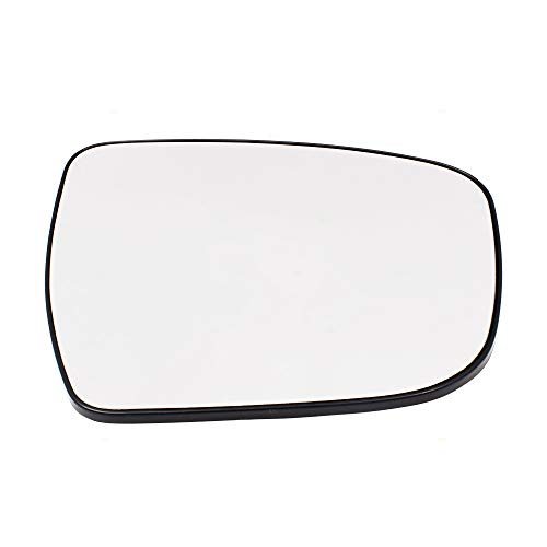 Drivers Side View Mirror Glass & Base Heated Replacement for Nissan Murano Rogue Pathfinder 963664BA1A