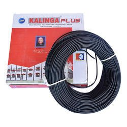 kalinga plus _1 mm Insulated Copper PVC Cable Wire Length: 90 meters color Black
