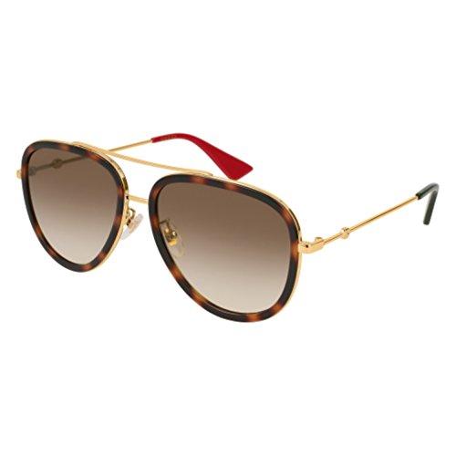 Sunglasses Gucci GG 0062 S- 012 GOLD / - Gg0062s Gucci