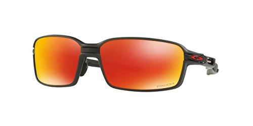 Oakley Carbon Prime Sunglasses Matte Black / Prizm Ruby Polarized & Cleaning - Oakley Glasses Carbon